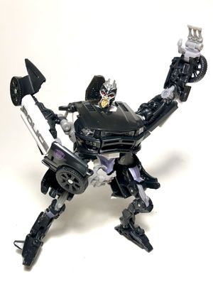 Transformers Dark of the Moon Deluxe Class Barricade (c)2011 for Sale in Chicago, IL