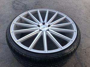 "22"" Azad Wheels for Impala Malibu Lexus Infinity Mustang Cadillac for Sale in Lynwood, CA"