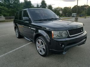 2011 Range Rover Supercharged Black/ 75k miles/ great conditions for Sale in Wheaton, MD