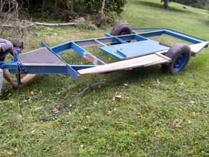 14 by 5.5 foot trailer just needs boards for Sale in Elkins, WV