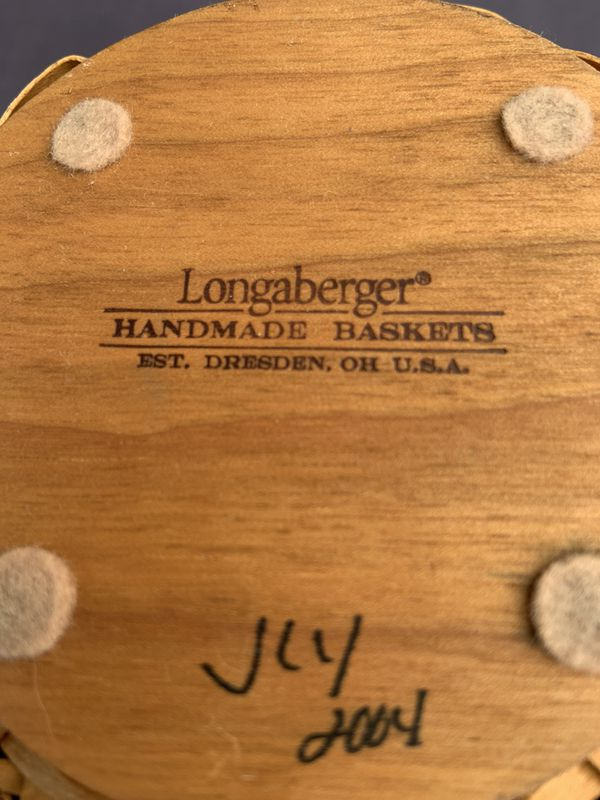 2004 Longaberger Basket and Bouquet Insert