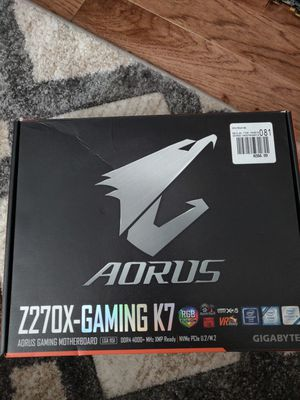 Aorus Z270-Gaming K7 Motherboard for Sale in Warrenton, VA