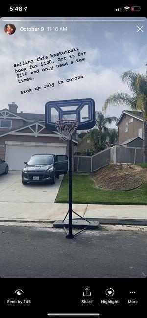 Basketball hoop for Sale in Murrieta, CA