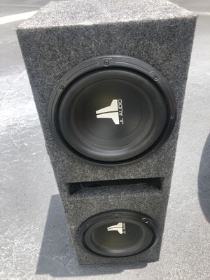 JL audio 10 in subs for Sale in Winter Haven, FL