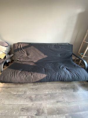 Black futon for Sale in Buffalo, NY