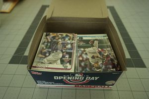 2019 Topps baseball opening day card lot 200+ cards for Sale in Auburn, WA