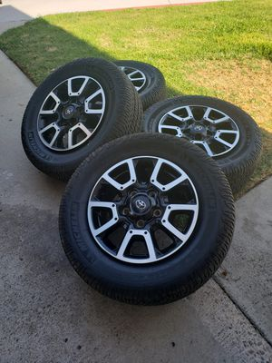 TOYOTA TUNDRA TRD WHEELS AND TIRES MICHELIN LTX AT2 for Sale in El Cajon, CA