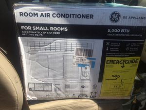 New 5000 btu air conditioner , Walmart price 136 for Sale in Herndon, VA