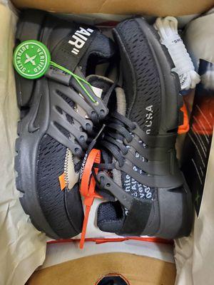Nike presto ow size 10 for Sale in Harvey, LA
