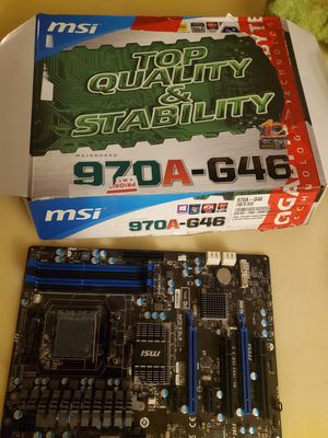 MSI 970A-G46 MOTHERBOARD for Sale in Tucson, AZ