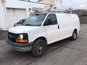 2010 Chevy express 3500 cargo van low miles 67654 for Sale in Hillcrest Heights, MD