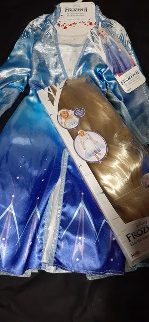 Disney: Frozen 2 Elsa Costume Size 4-6X for Sale in Oakland Park, FL