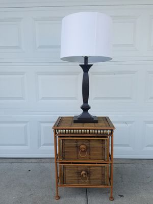 Table and lamp for Sale in Irvine, CA