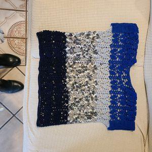 Crochet Multi Tone Blouse for Sale in Dinuba, CA