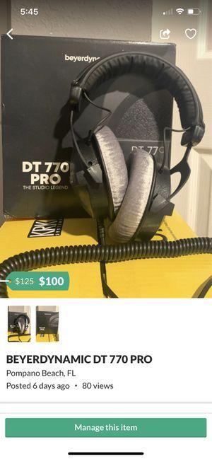 BRAND NEW STUDIO HEADPHONES for Sale in Parkland, FL