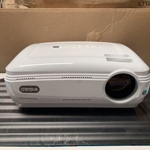 Crevova XPE680 LED 720P HD Projector 2800 Lumens for Sale in Ontario, CA