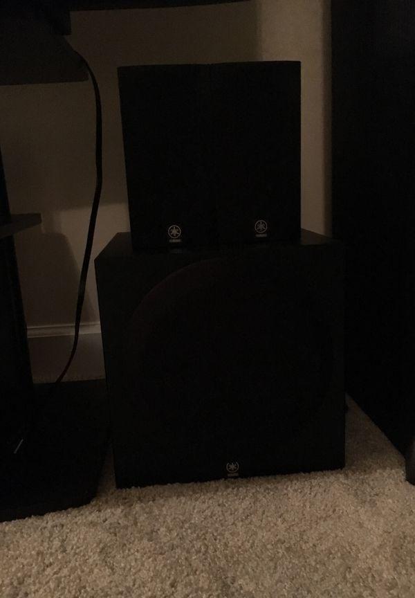 Yamaha 5.1 home theatre system - 500 Watts