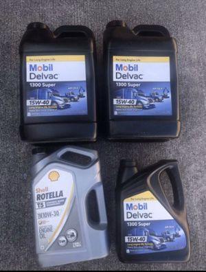 Mobil Mobil Delvac 15W-40 Heavy Duty Diesel Oil, 2.5 gal. ALL 4 for Sale in Tamarac, FL