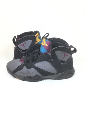 NIKE AIR JORDAN VII 7 BLACK GRAPHITE BORDEAUX 2015 OG RETRO ORIGINAL Size 11 Shipped with USPS Priority Mail. Has wear but still a good pair of sho for Sale in San Dimas, CA