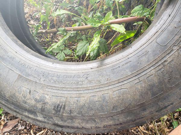 Michelin truck tire (recap)