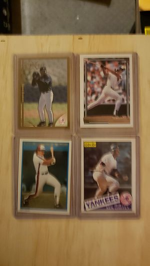 Lot of 4 baseball cards nice. Selling entire home contents MOVING for Sale in Glastonbury, CT