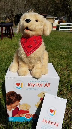 Joy for All - Companion Pet - Golden Dog interactive for Sale in Tarpon Springs, FL