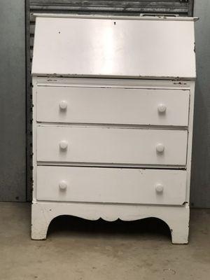 Antique desk cabinet for Sale in Highlands, NJ