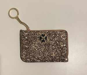Gold Kate Spade Wallet Keychain for Sale in Broomfield, CO