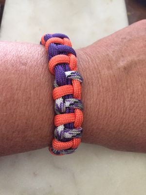 Braided paracord bracelet for Sale in Ontario, CA