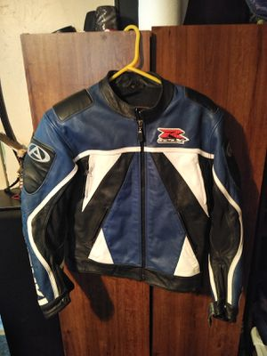 Suzuki GSXR Motorcycle Leather MotoGP Racing Jacket for Sale in Mount Oliver, PA