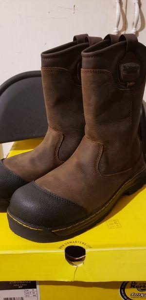 Dr. Marten steel toe work boots for Sale in Houston, TX