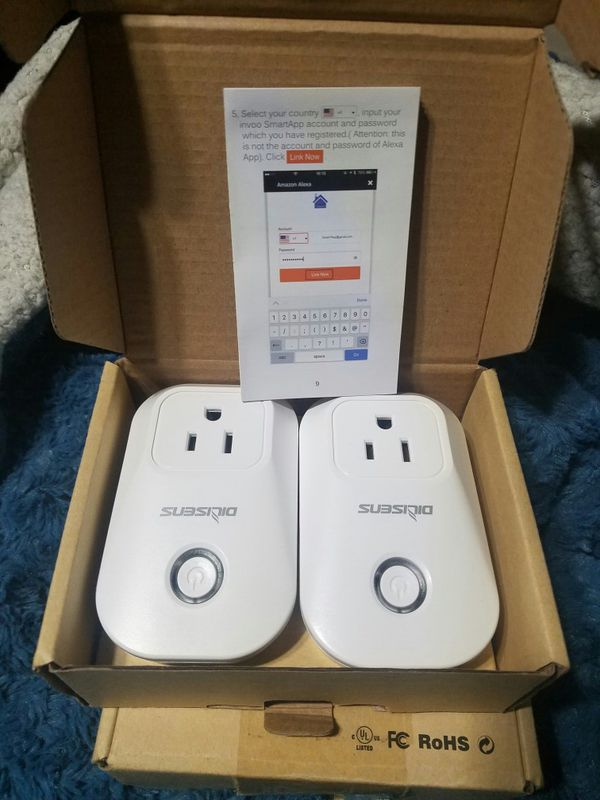 Wifi smart outlet plug new