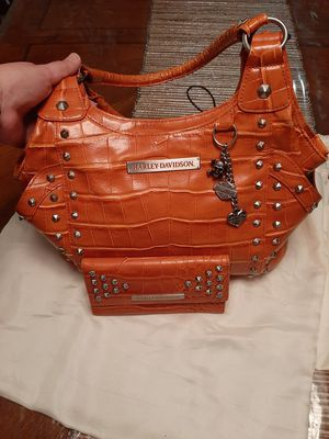 Brand new Harley Davidson Leather purse with wallet for Sale in San Antonio, TX