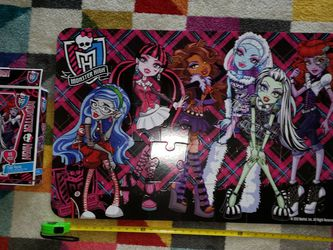 Big Monster High Puzzle for Sale in Stockton,  CA