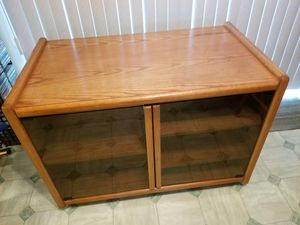 Solid Oak TV stand for Sale in Everett, WA