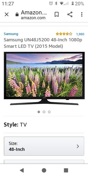 LG 48 inch Smart LED TV for Sale in Parma, OH