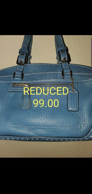 Vintage Perfect Coach Heavy leather bag,,superclean, for Sale in Las Vegas, NV