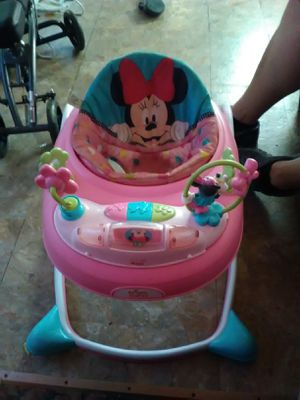 Peak a boo Minnie Mouse walker for Sale in Junction City, OH
