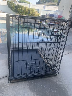 Small Collapsable Dog Crate with Pull Out Bottom for Sale in Fullerton, CA