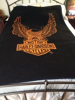 Harley Davidson blanket/ throw for Sale in Acworth, GA