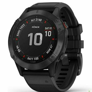 Garmin fenix 6 Pro, Premium Multisport GPS Watch, Features Mapping, Music, Grade-Adjusted Pace Guidance and Pulse Ox Sensors, Black ( USED ONE MONTH) for Sale in Mill Creek, WA