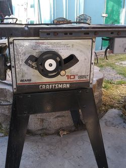 "Craftsman 10""table saws (2) (1) Dewalt 10""Radial arm saw for Sale in Modesto, CA"