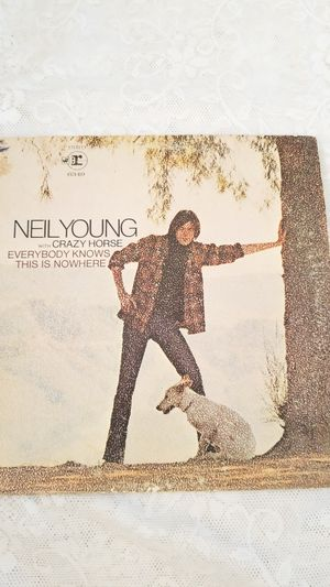 NEIL YOUNG WITH CRAZY HORSE EVERYBODY KNOWS THIS IS NOWHERE VINYL LP RECORD ALBUM for Sale in Cypress Gardens, FL