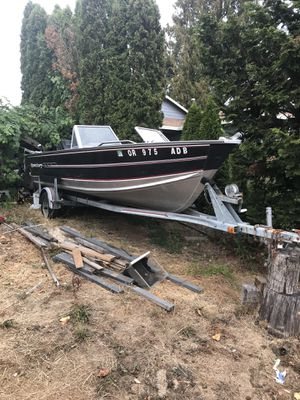 Aluminum boat for Sale in Portland, OR