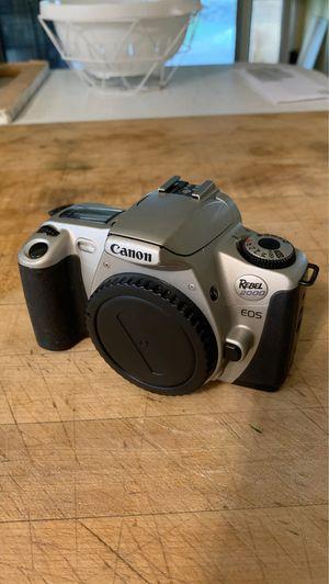 Canon EOS Rebel 2000 film camera for Sale in Corona, CA
