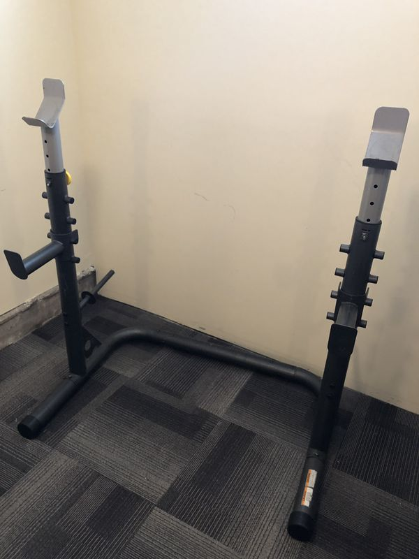 Squat/Bench Press Weight Rack