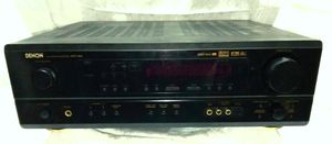 DENON AVR-1604 5.1 Home Theater Receiver Dolby Digital EX, DTS-ES, Pro Logic II, Remote Control for Sale in Largo, FL