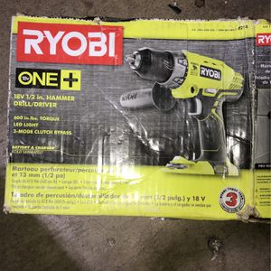 Ryobi 18V 1/2 Hammer Drill Bare Tool for Sale in Fountain Valley, CA