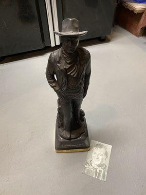 Vintage John Wayne Whiskey Bottle / Decanter for Sale in Washington, DC