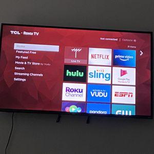 55 Inch Smart Tv for Sale in Dallas, TX